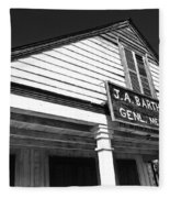 Barthel Store Fleece Blanket
