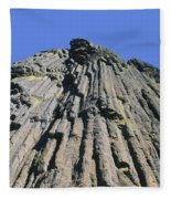 M-a5607-basalt Columns On Pilot Rock Fleece Blanket