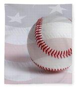 Baseball Fleece Blanket