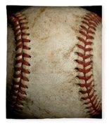 Baseball Seams Fleece Blanket