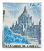 Basilica Lisieux Fleece Blanket