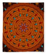 Basket Weaving 2012 Fleece Blanket