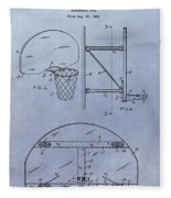 Basketball Hoop Fleece Blanket