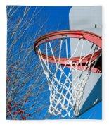 Basketball Net Fleece Blanket