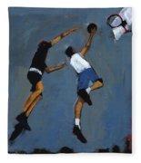 Basketball Players Fleece Blanket