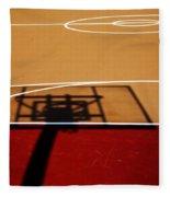 Basketball Shadows Fleece Blanket