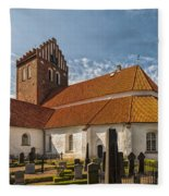 Bastad Church Fleece Blanket