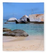 Bath Beach Fleece Blanket