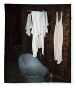 Bath Day Fleece Blanket