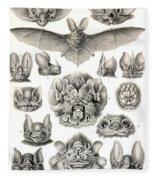 Bats Bats And More Bats Fleece Blanket