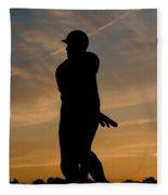 Batter At Dawn - Phillies Fleece Blanket
