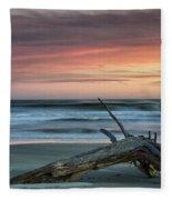 Battered Driftwood Fleece Blanket