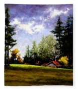 Battle Ground Park Fleece Blanket