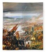 Battle Of Avay Fleece Blanket