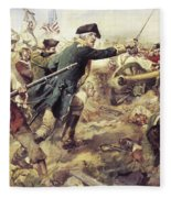 Battle Of Bennington Fleece Blanket