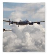 Battle Of Britain - Memorial Flight Fleece Blanket