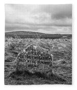 Battle Of Culloden Fleece Blanket