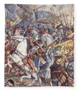 Battle Of Fornovo, Illustration Fleece Blanket