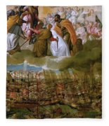 Battle Of Lepanto Fleece Blanket
