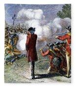 Battle Of Lexington Fleece Blanket