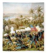 Battle Of Qusimas Fleece Blanket