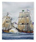 Battle Sail Fleece Blanket