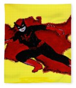 Batwoman Fleece Blanket