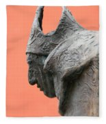 Bavarian Statue Fleece Blanket