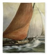 Bawley In The Estuary Fleece Blanket