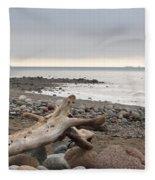 Bay Of Fundy Fleece Blanket