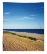Bay Of Keyport Fleece Blanket