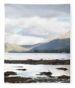 Bay Reflections Fleece Blanket