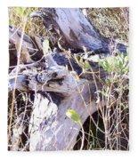 Bayberry And Driftwood Fleece Blanket