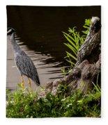 Bayou Bird Fleece Blanket