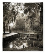 Bayou Evening Fleece Blanket
