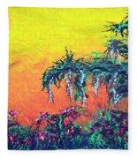 Bayou Honeymoon Fleece Blanket