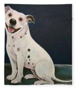Baz The Dog Fleece Blanket
