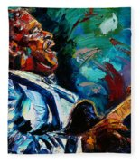 Bb King Fleece Blanket