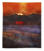 Be Still  Fleece Blanket