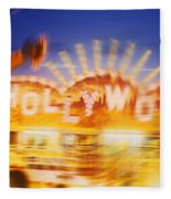 Be Thy Name Fleece Blanket