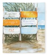 Beach 151 Fleece Blanket