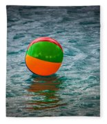 Beach Ball Float Fleece Blanket