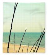 Beach Branches Fleece Blanket