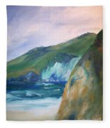 Beach California Fleece Blanket