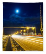 Beach Causeway Fleece Blanket