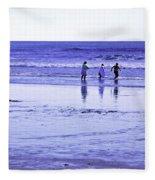 Beach Day Afternoon Fleece Blanket