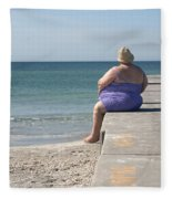 Beach Dreamer Fleece Blanket