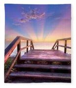 Beach Dreams Fleece Blanket