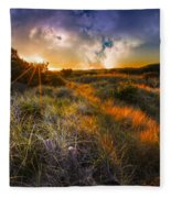 Beach Dunes Fleece Blanket