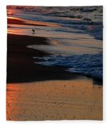 Beach Glow Fleece Blanket